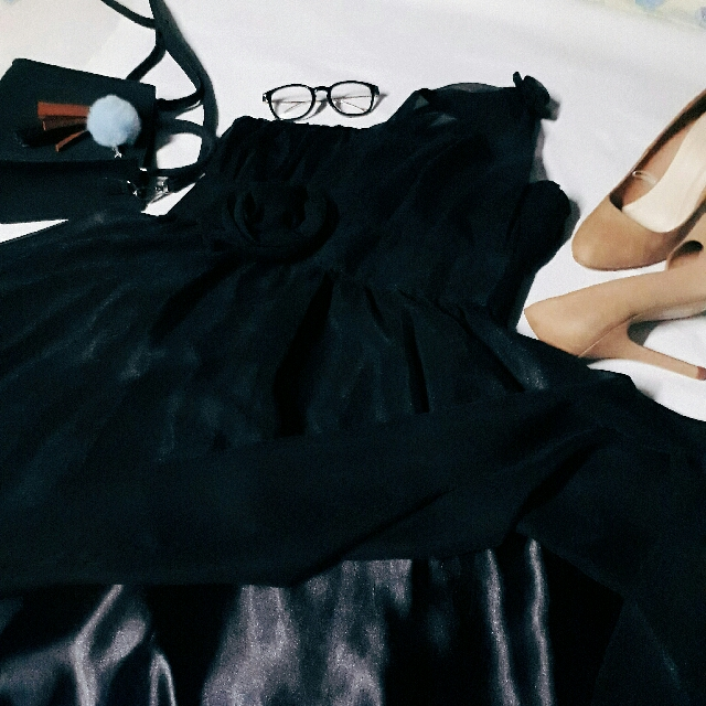 Black Gown/Prom Dress