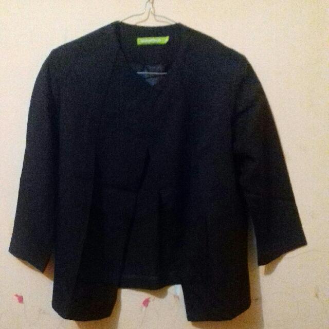 Blezer/ Jas Kantor Formal Black