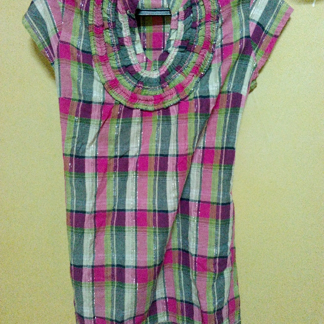 Blouse Checkered