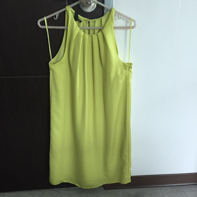 BN Mango Halter Dress