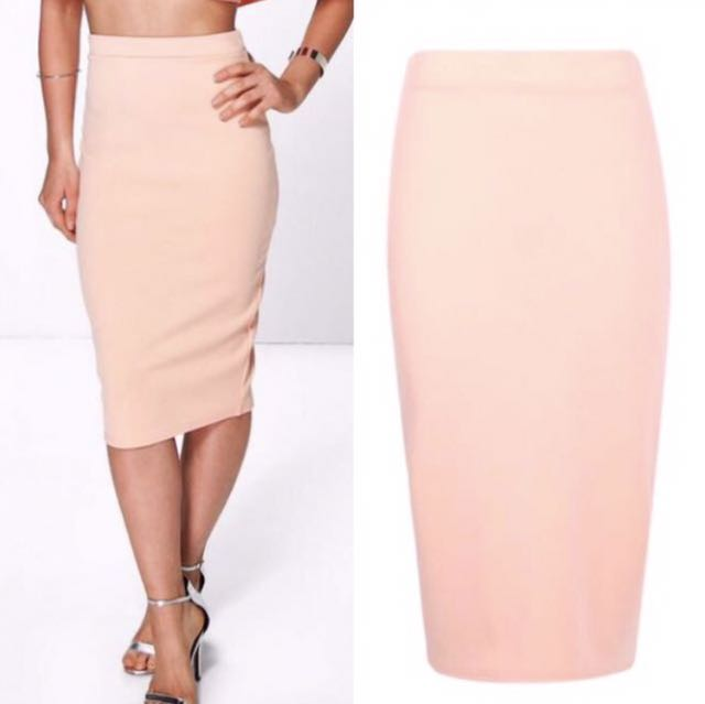 Boohoo Midi Skirt