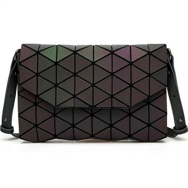 1841db33a6 BRAND NEW Black Luminous Issey Miyake BAOBAO Inspired Messenger Bag ...