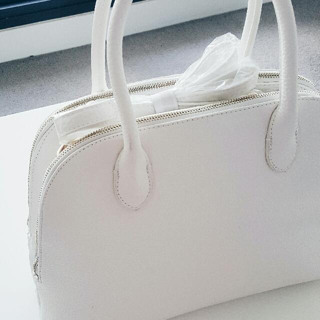 brand new forever new white bag