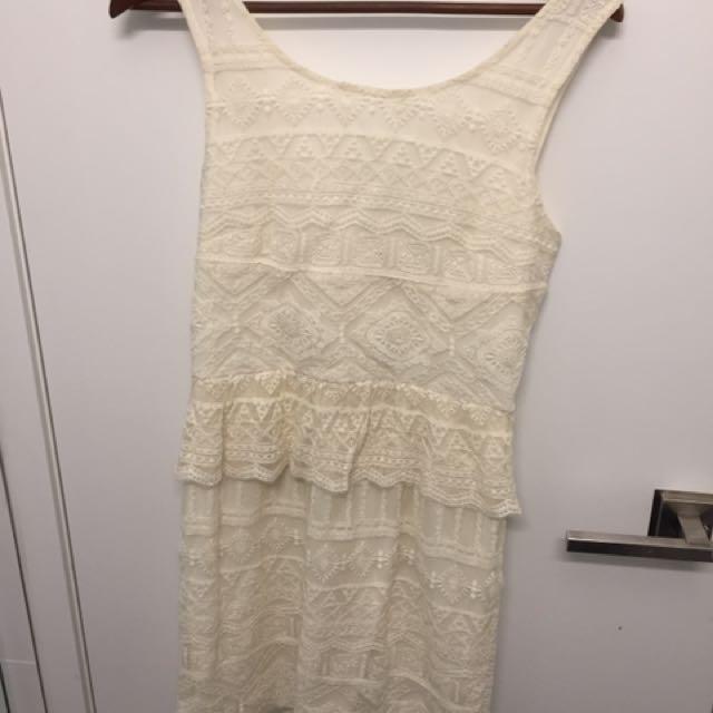 Brand new lace dress size s