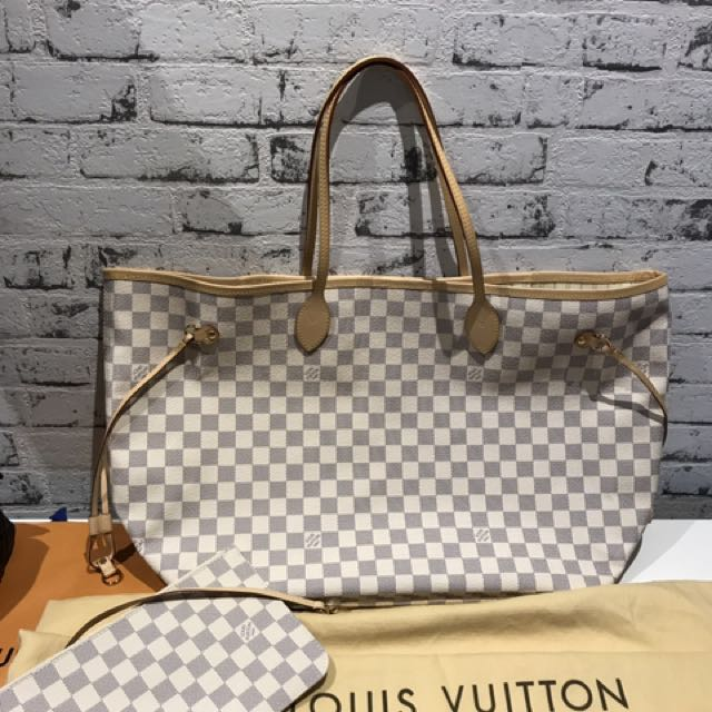 Brand New Louis Vuitton Neverfull gM Size In Azur Rrp$1770