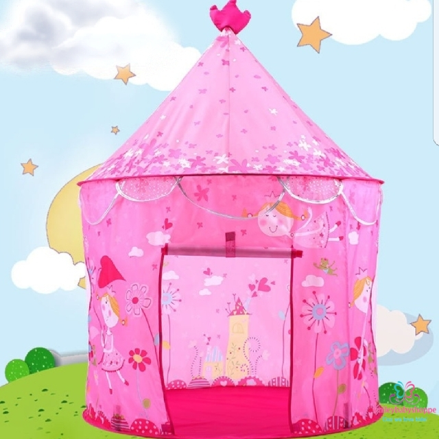 photo photo photo photo  sc 1 st  Carousell & SALE @ $29.90!*Brand New Princess Fairy Play Tent Castle Flowers ...