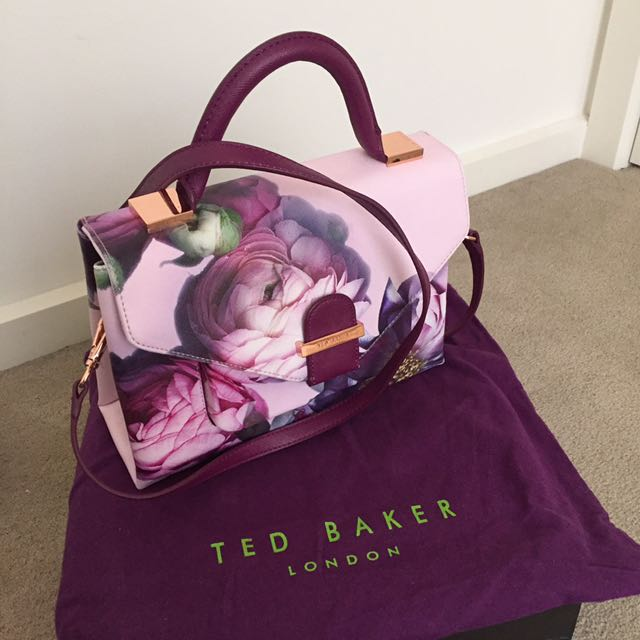 304c4d465d Brand new Ted Baker floral bag, Women's Fashion, Bags & Wallets on Carousell