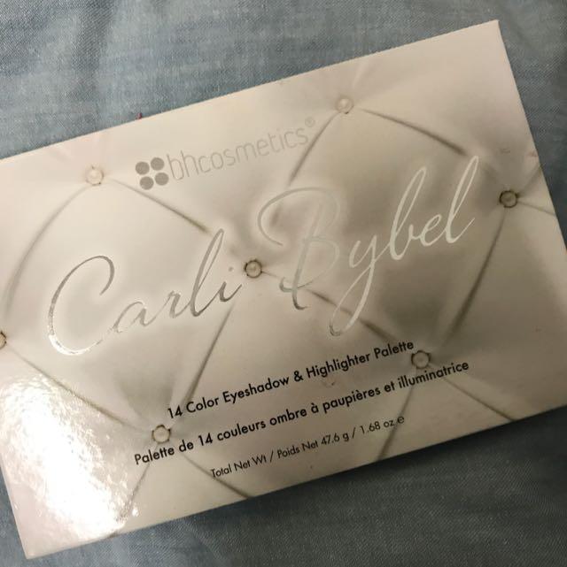 Carli Bybel BH Cosmetics Eyeshadow Palette