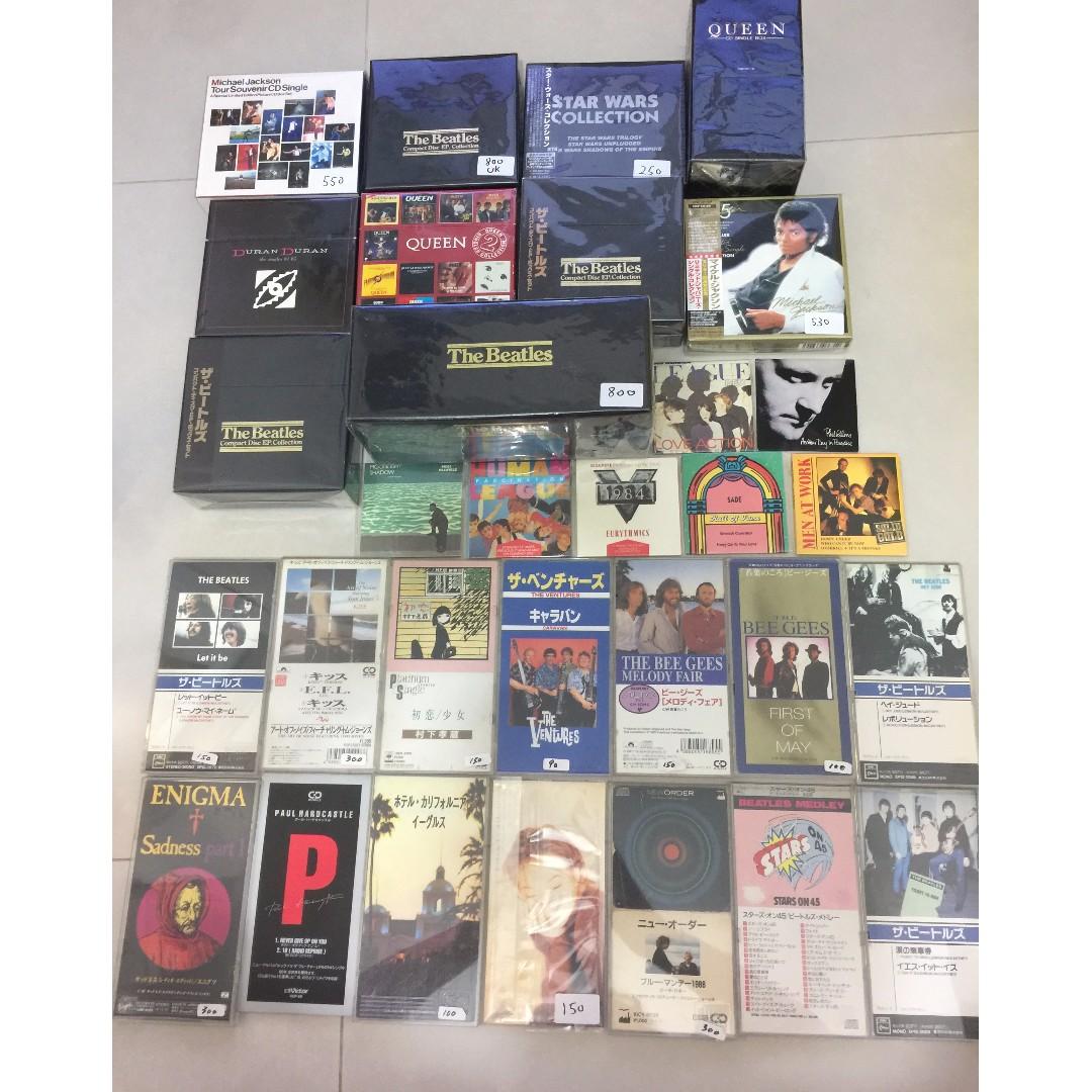 CD Madonna Beatles Michael Jackson 價錢在碟右下角 可散買 II