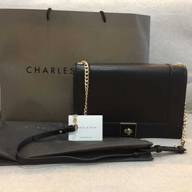 Charles Keith Shoulder Clutch Bag Luxury Bags Wallets On Carou