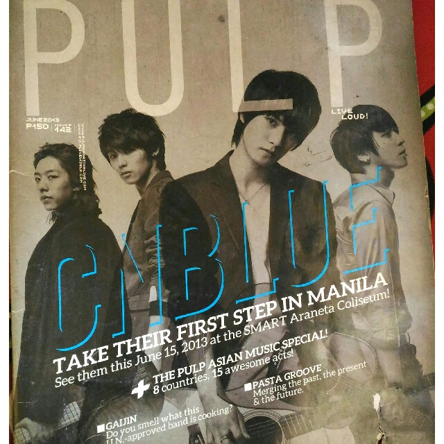 CN Blue (PULP Magazine)