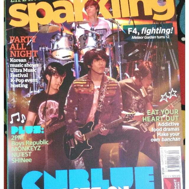 CN Blue (Sparkling Magazine)