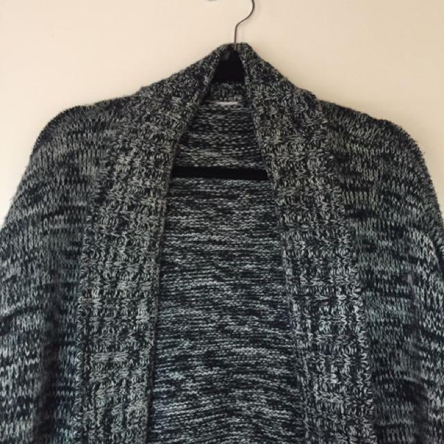 Comfy grey cardigan
