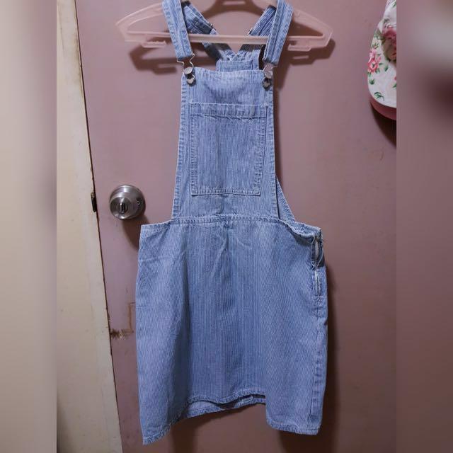 Cotton On Overall Denim dress