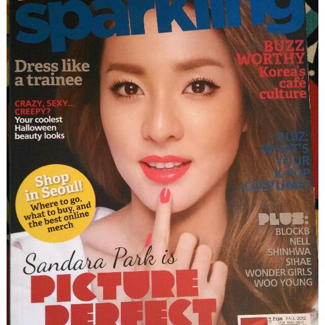 Dara Park 2NE1 (Sparkling Magazine)
