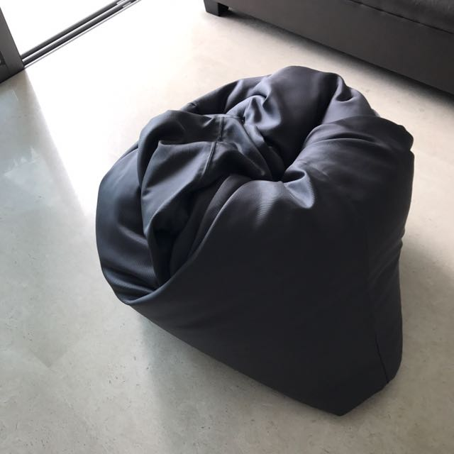 Original Doob Gray Bean Bag