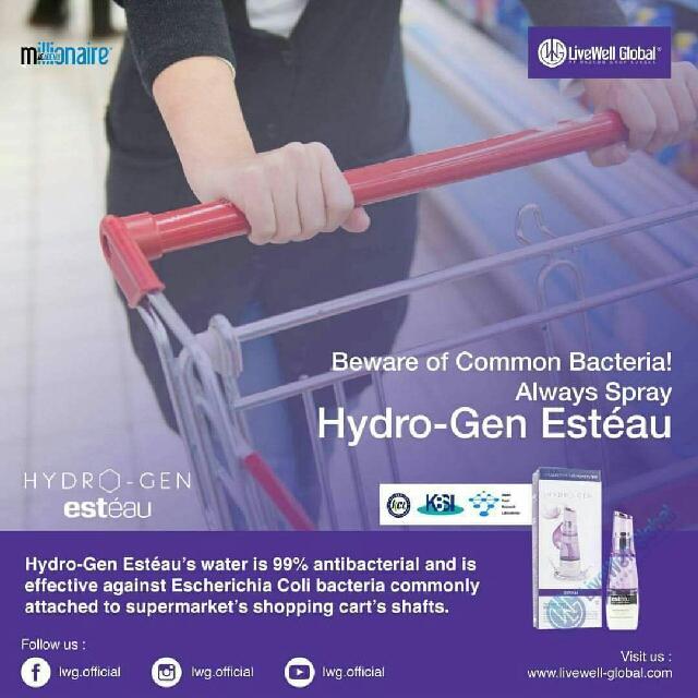 Esteau Hydrogen Water - Sehat Mulus Cantik