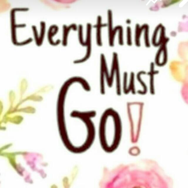 Everything Must Goo