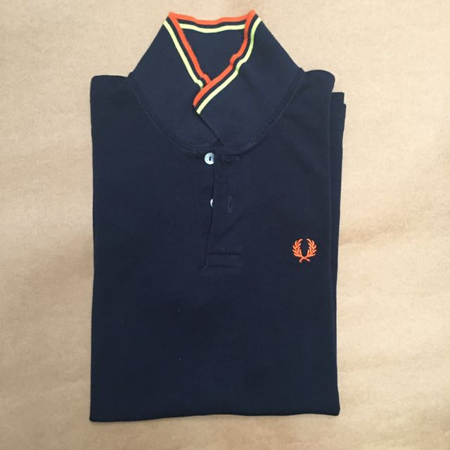 3fab662a4 Fred Perry Black Polo Shirt, Men's Fashion, Clothes, Tops on Carousell