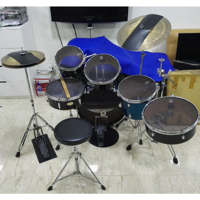 Quiet Silent Drums Free Delivery Complete Set Of Equipment For