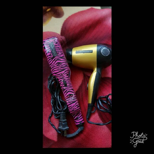 Free Sf Avon Hair Straightener/Hair Blower/