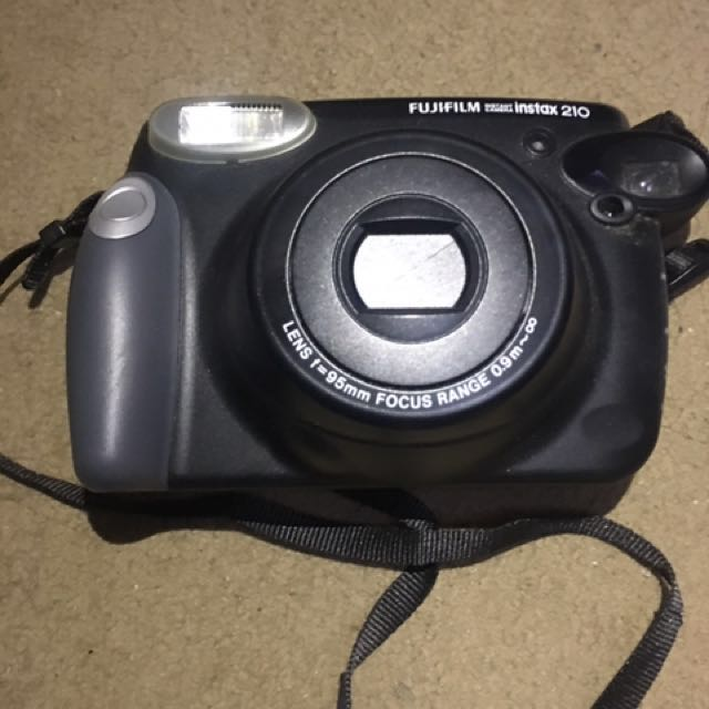 Fujifilm - Instax 210 Film Camera