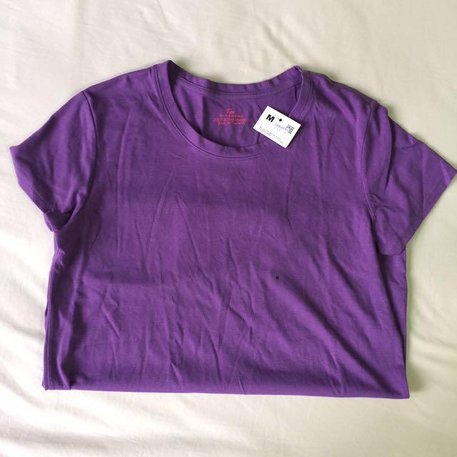 Giordano Purple T-Shirt