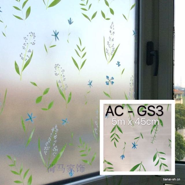 Glass sticker 5m x 45cm