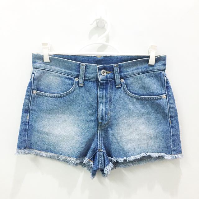 GU Denim Shorts