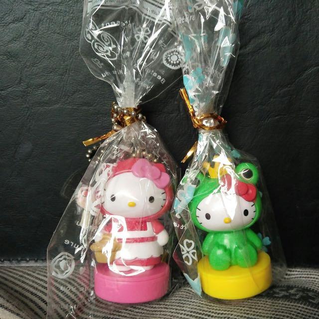 Hello Kitty/凱蒂貓/造型印章/小紅帽/青蛙王子/吊飾