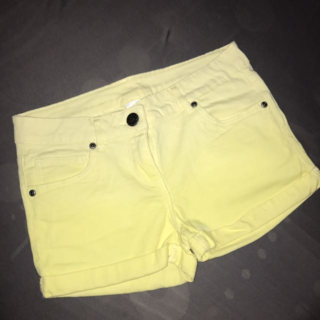 Here There Yellow Shorts