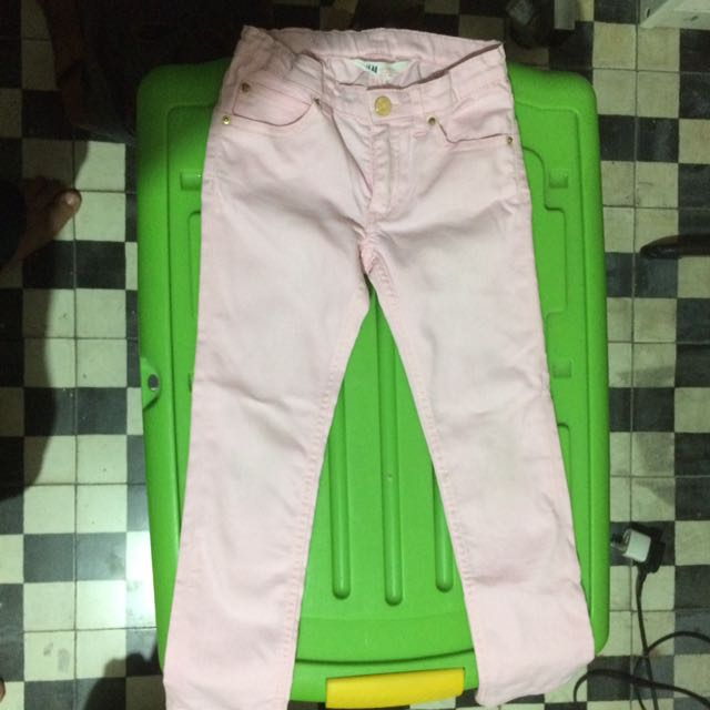 H&M Pink Jeans