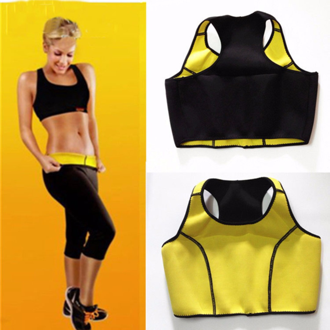 23c43d8f42 Hot Slimming Shaper Set Vest+pants Thermo Wear Neoprene Body SAUNA Shaper  Capri AntiCellulite ASOTV