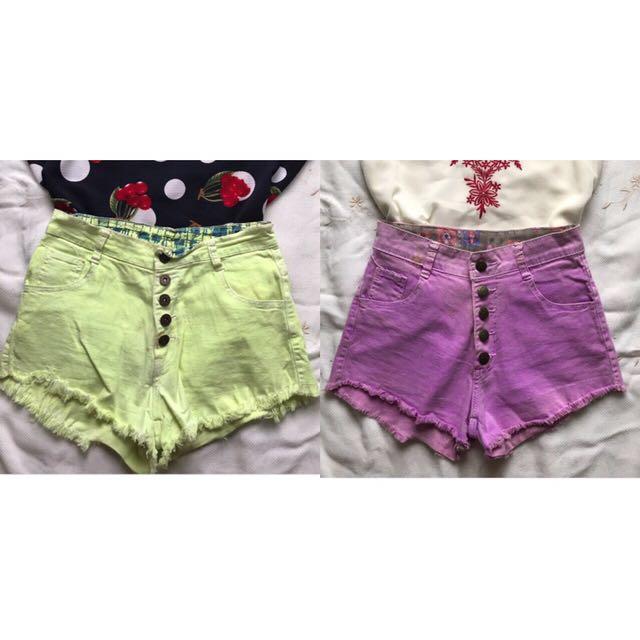 Hw Shorts P100 each