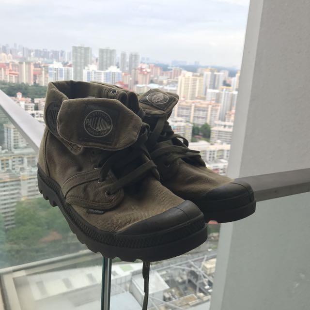 [IB] Pallabrouse Baggy Chukka Boot