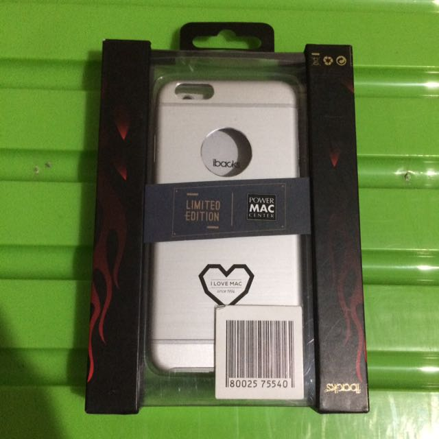 IBACKS Essence Premium Aluminium iPhone 6 case PMC Special Edition (Silver)