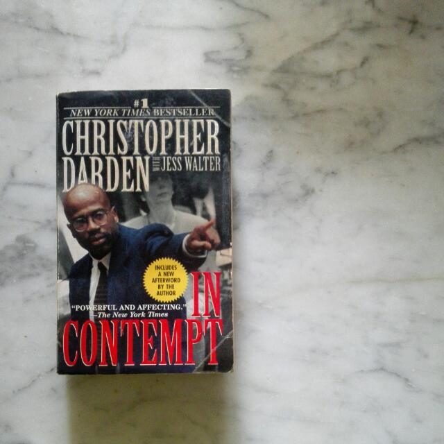 In Contempt by Christopher Darden