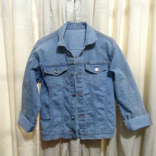 Jacket Jeans / Jaket Denim / Washed Acid