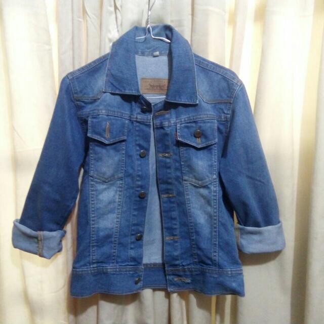 Jaket Jeans / Jacket Denim / Washed Acid