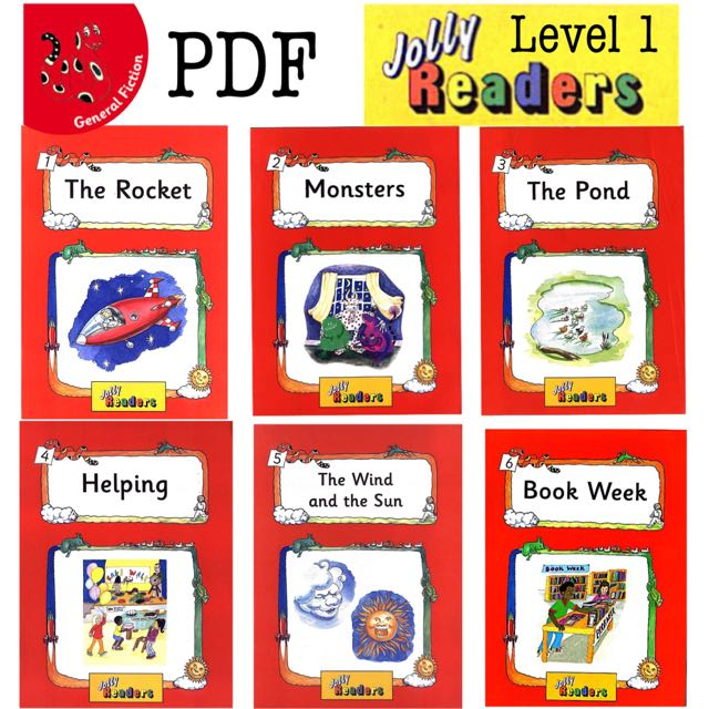 Jolly Readers Level 1 General Fiction (PDF)