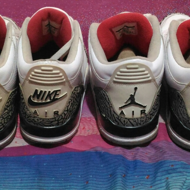 Jordan 3 White Cement OG 88 & J3 WC