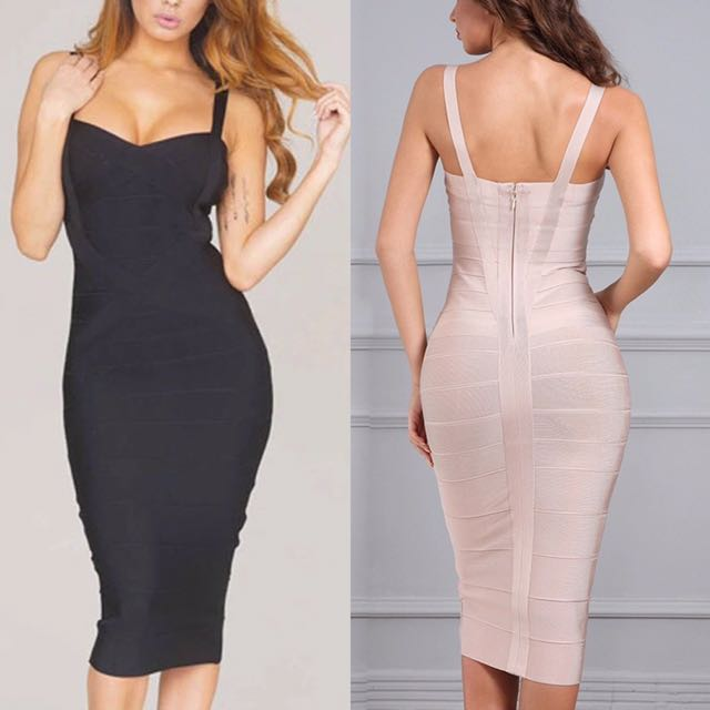 Ladies Herve ledger g6 range toxic envy nookie kookai bandage dress size 4 6 8 10 12