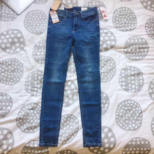 Lee Cooper Crop Skinny Jeans