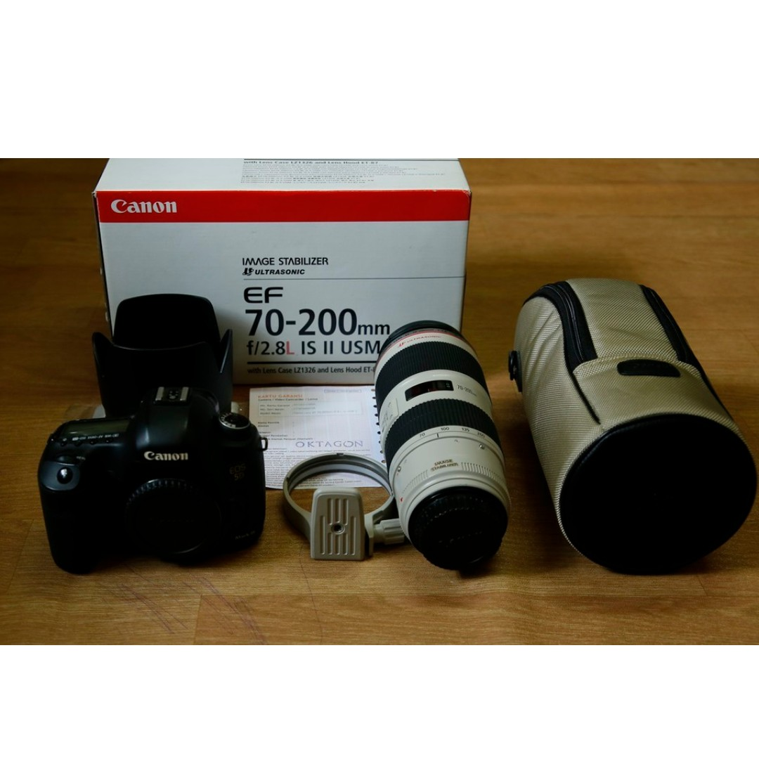 Lensa Canon Ef 70 200 F28 Is Ii Usm Mark Photography On Carousell 200mm F 28l