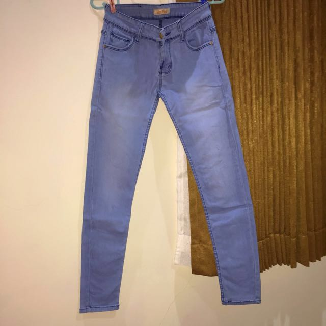Light blue zara jeans