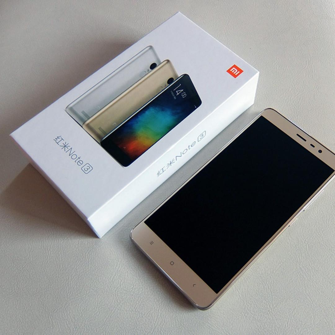 Like New Full Box Xiaomi Redmi Note 3 Pro Snapdragon 55 Ram 2 16gb Gold Hd 2gb Rom 4g Dual Sim Microsd Fingerprint