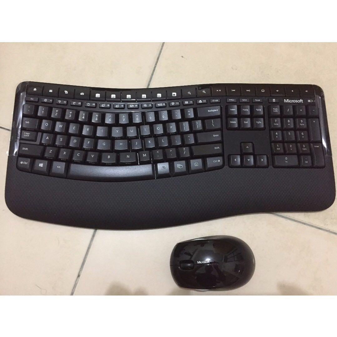 9279ba16e3e Like new] Microsoft Keyboard Wireless Comfort 5000, Electronics ...
