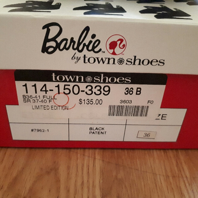 Limited Edition Barbie By Town Shoes Heels