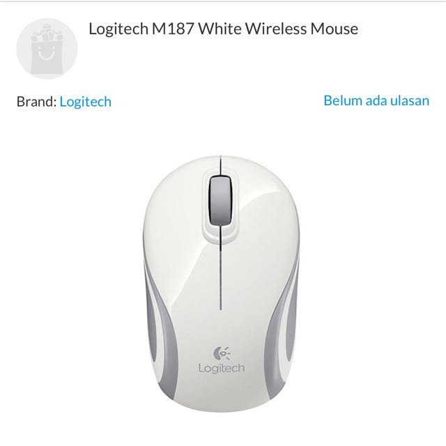 Logitech Wireless Mouse M187