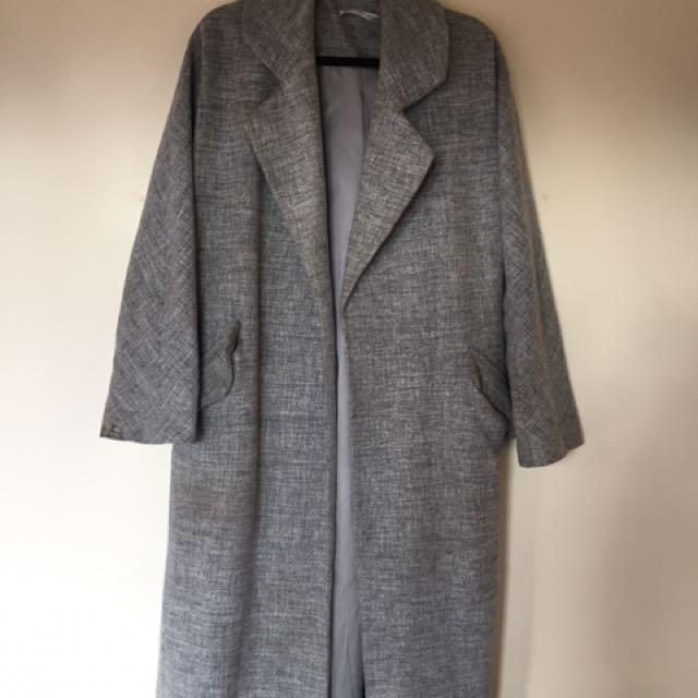 Lonely Hearts Grey Coat